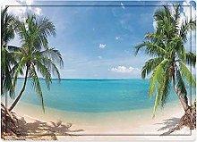 Tappeto da bagno50x80cm, Ocean Decor, spiaggia