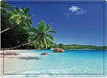 Tappeto da bagno50x80cm, Ocean Decor, Sunny