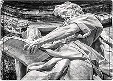 Tappeto da bagno50x80cm, Sculture Decor, Statua di