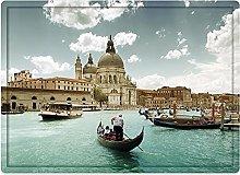 Tappeto da bagno50x80cm, Venezia, Basilica Santa