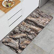 Tappeto da cucina, antico corteccia creativa,