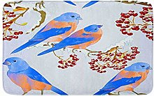 Tappeto da cucina con uccellini e mughetto, con