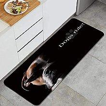 Tappeto da cucina, cool cane divertente cane,