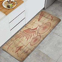 Tappeto da cucina, DA Vinci Sketch Designs per