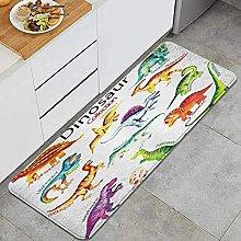 Tappeto da cucina, dinosauro per bambini,