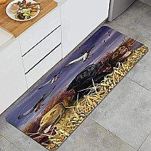 Tappeto da cucina, Duck Dog, Impermeabile Non skid