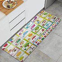 Tappeto da cucina, Funny Educational Alphabet