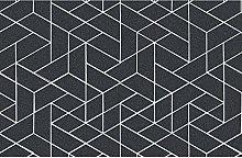 Tappeto da cucina geometrico Due