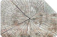 Tappeto da cucina in legno, tappetino comfort per