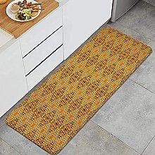 Tappeto da cucina, motivo diagonale in colori
