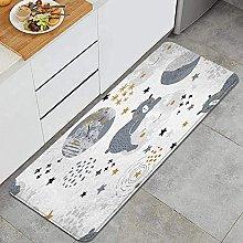 Tappeto da cucina, piccolo orso del bambino che