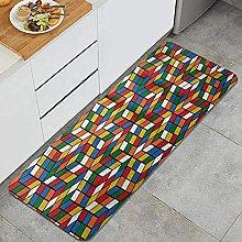 Tappeto da cucina, World Cube, Impermeabile Non
