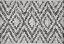 Tappeto da esterni a motivi geometrici  grigio 160