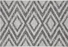 Tappeto da esterni a motivi geometrici grigio 200