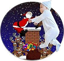 Tappeto Da Soggiorno Babbo Natale Tappeto Da