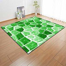 Tappeto da Soggiorno Mosaico geometrico verde