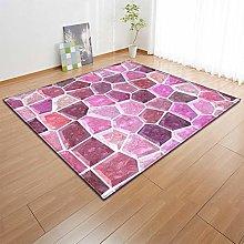 Tappeto da Soggiorno Mosaico geometrico viola