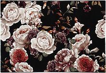 Tappeto di design con motivo a rose 160 x 230 cm