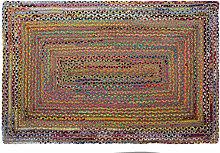 Tappeto DKD Home Decor Marrone Multicolore Iuta