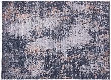Tappeto effetto usé verde 160 x 230 cm PERRE