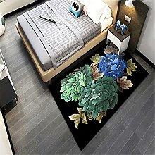Tappeto Esterno Giardino Nero Decorazioni Camera