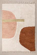 Tappeto in cotone (206x130 cm) Delta Multicolor
