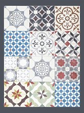 Tappeto in pvc stampa ceramica per pavimento,