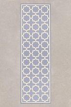 Tappeto in vinile (200x60 cm) Zirab Grigio