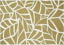 Tappeto interno esterno bianco crema e verde 123 x