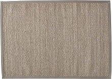 Tappeto intrecciato beige in sisal 160 x 230 cm