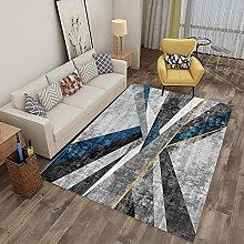 Tappeto moderno geometrico comodo per area casual,