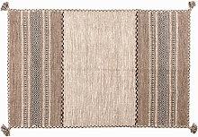 Tappeto Moderno KANSAS, stile Kilim, 100%