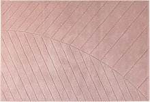 Tappeto moderno rosa 160 x 230 cm PALM
