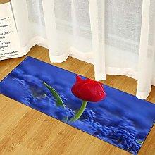 Tappeto moderno stampato panoramico 3D per cucina