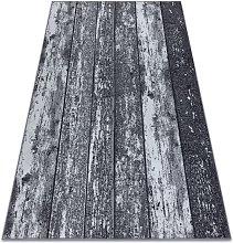 TAPPETO - MOQUETTE antiscivolo WOOD legna tavola