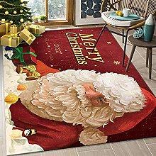 Tappeto natalizio con Babbo Natale, tappeto