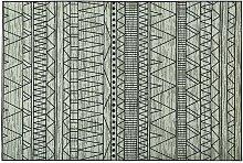 Tappeto nero/grigio 160 X 230 cm KEBAN