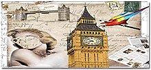 Tappeto Passatoia Big Ben, Regno Unito 40cm X