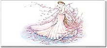Tappeto Passatoia Cherry Blossom Beauty 50cm X