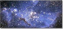 Tappeto Passatoia Cielo stellato blu 40cm X 120cm