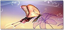 Tappeto Passatoia Cucina 40cm X 120cm Farfalla