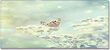 Tappeto Passatoia Cucina 50cm X 80cm Farfalla