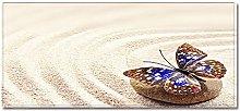 Tappeto Passatoia Cucina 50cm X 80cm Farfalla da