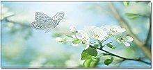 Tappeto Passatoia Cucina 50cm X 80cm Farfalla di