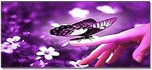 Tappeto Passatoia Cucina 60cm X 180cm Farfalla da