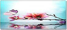Tappeto Passatoia Cucina 60cm X 180cm Farfalla