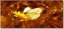 Tappeto Passatoia Farfalla gialla 40cm X 60cm