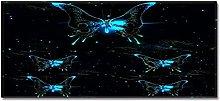 Tappeto Passatoia Farfalla luminosa 60cm X 90cm