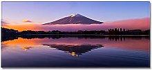 Tappeto Passatoia Lago del Monte Fuji 40cm X 100cm