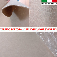 Tappeto Passatoia Magic Tortora Con Pellicola